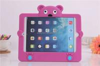3D Cute case for ipad mini, silicone cover for ipad mini Smart design