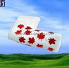 Maple Leaf Magnetic Closure Blade Putter Golf Cover