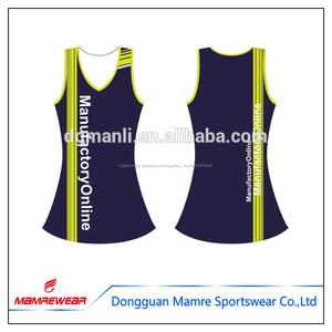 ンライン印刷ネットボールドレス,スポーツバスケットテニス服ネットボールジム