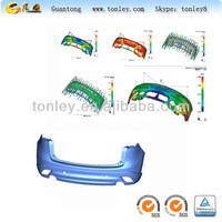 Made in China plastic injection 3d design car bumper mould