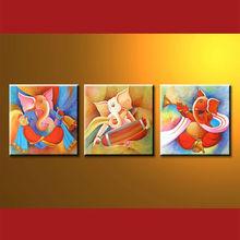 Newest Handmade Ganesha Modern Art