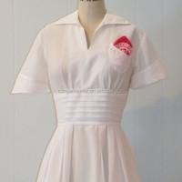 design nurse white uniform female, design nurse white uniform