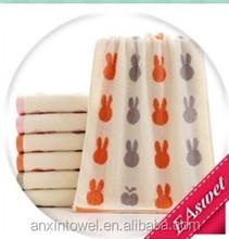 factory rabbit cartoon towel soft material good feel quick dry
