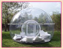 ao ar livre de acampamento bolha tenda
