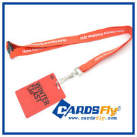 Personalized lanyard id card rope