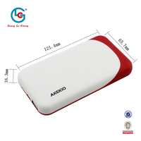 2015 new arrival hot portable anti explsion high efficiency promotional harga abs 8000mah power bank for samsung galaxy s2