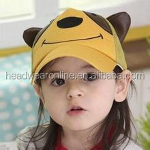 2014 high quality cute colorful kids/children mesh caps/hats with apple logo made in Guangdong