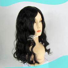 Venda quente Mongolian humano cabelo encaracolado peruca judaica loja para mulheres judias