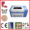 2015 hot selling wood arcylic leather fabric paper desktop laser engraving machine