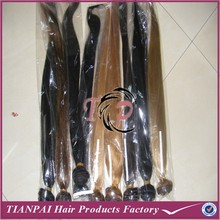 Free pack opp/pvc 100g/pcs silky straight can be dyed and colored virgin huaman remy Peruvian hair extension for beauty
