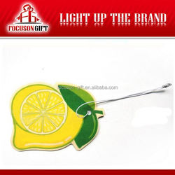 Promotion Item Cotton Paper Car Air Fresheners