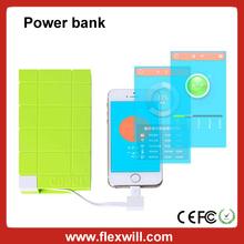 High Quality Universal Colourful 10000mAh Mobile Power Bank
