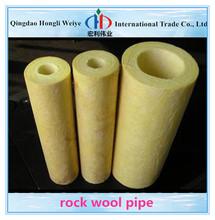 A prueba de fuego material natural del aislamiento de calor precio bajo y bajo aislamiento térmico de lana de roca tubería