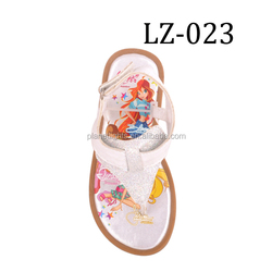 Hot sale fashion girls sandals pu girl sandals