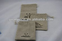 Best quality promotional jute bags bottle bags