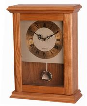 Design best sell simple style high quality decoration sweep alarm clock wooden table clock