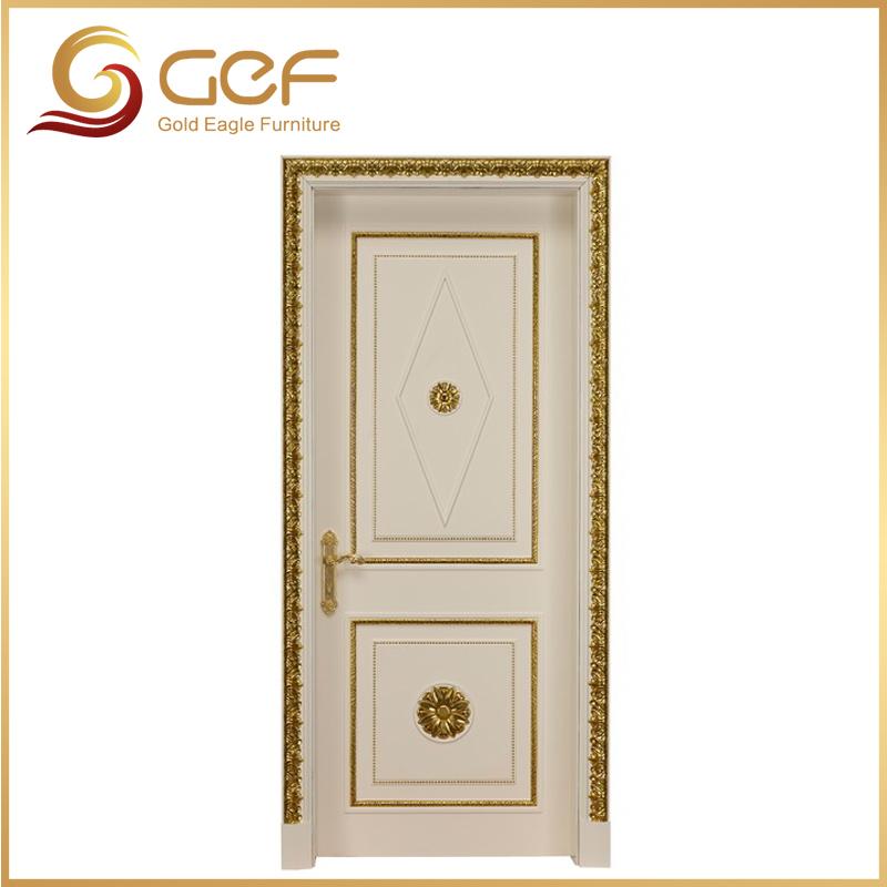 Endurable gold color teak wood main door models buy teak for Teak wood doors models