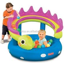 safer inflatable animal baby ball pool