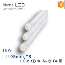 Tube Lights Item Type and CE RoHS UL Certification 18W T8 Led Tube Light 1200mm