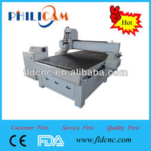 China high accuracy Jinan lifan PHILICAM 1325 square orbit cnc router