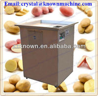 100kgs per hour intergrated potato chips slicer and potato cutter
