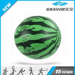 Customized color/size/logo watermelon shape PVC toy ball/PVC toy