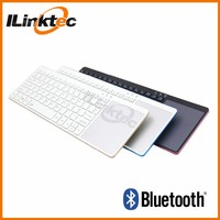Aluminum cover White bluetooth keyboard for samsung galaxy note 10.1