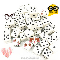 10mm plastic bulk dice wholesale
