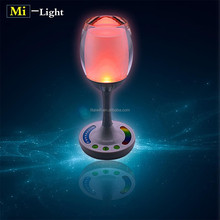 Fashion cup light indoor colorful decoration rechargeable smart RGBW decorative light