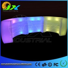 Factory Price Led Colorful Counter/Illuminated Led Bar Counter/Professional Bar Counter Led Light