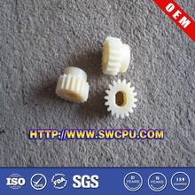 Custom made nylon uhmwpe pom plastic worm gear for reducer