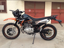 New Bros Dirt Bike with 250cc engine and disc cover