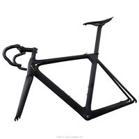 2015 New Aero Carbon Bicycle Frame Supplier AERO007 BB86/DI2 Fiber Road Racing Bike Frame