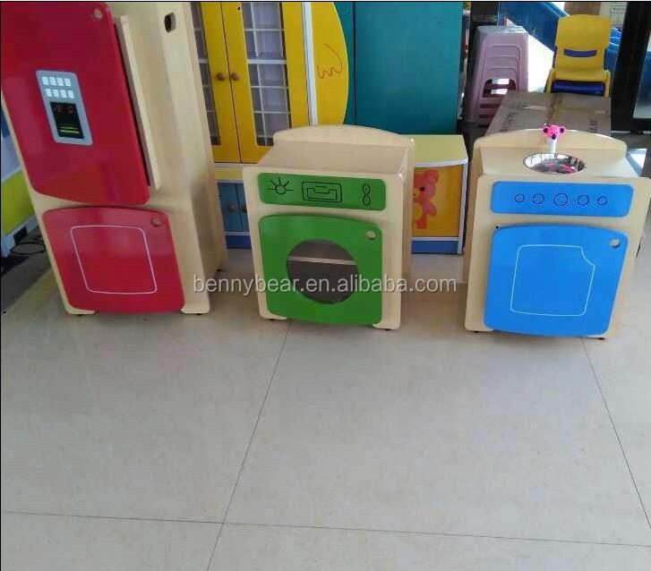 children wooden role play kitchen furniture toy