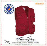 Made in China Wholesale Clothes Mens Fishing Safety Vest