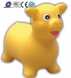 PVC inflatable skippy rocking animal