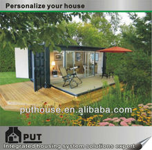 insulated prefab container house for residence