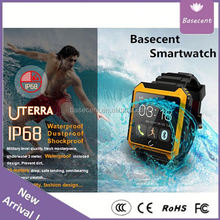 Hands-Free Calling Pedometer Bluetooth Smart Watch U8 Ip105 Basecent Smart Watch