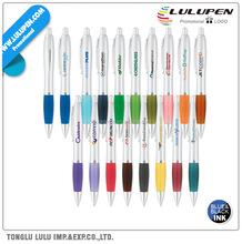 Curvaceous Silver Matte Ballpoint Promotional Pen (Lu-Q15231)