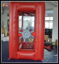 inflatable money booth / inflatable safe machine / inflatable cash cube