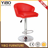 commercial used adjustable comfortable bar stool parts gas lift swivel kitchen office furniture