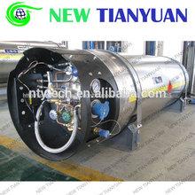 150l capacidad nominal 1.6 mpa presión de gnl criogénicos del cilindro