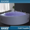 HS-B311 modern 1.5m length with colorful air jet adult sex massage tub