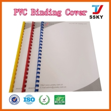 2015 new style pvc book cover factory