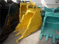 popular sale factory price Hyundai 600mm wideth excavator parts of hard rock bucket