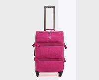 Lightweight Soft Luggage with high quality External Wheels