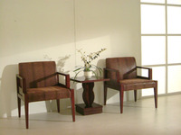 Warranted hotel living room fake leather lounge chair for sale XYN2453