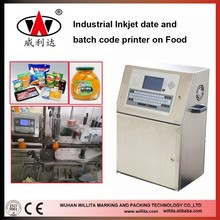 Willita WLD280P Automatic industrial inkjet printer, industrial continuous inkjet printer, chinese inkjet printer 5 lines