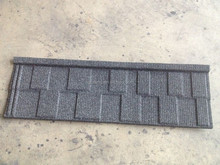 Stone coated metal roofing tile manufacture Shingles in Black White
