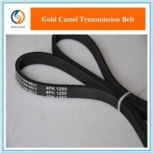 Rubber cut edge belts for auto